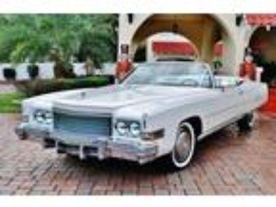 1974 Cadillac Eldorado Convertible 500 V8