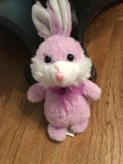 Little purple bunny. In great condition. No rips or stains. Asking $1.50