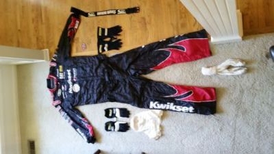 Find XL Sparco Racing Suit, firesuit current certification, race gloves & more motorcycle in Kearney, Missouri, United States