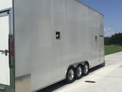 ALL Aluminum 32' Stacker