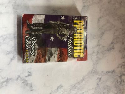 Unopened Patriotic Playing Cards
