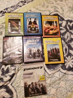 All 7 of fast and the furious movies