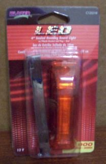 """Purchase BLAZER INTERNATIONAL 4"""" SEALED LED RUNNING BOARD LIGHT RED TRAILER TRUCK motorcycle in Wichita Falls, Texas, United States, for US $6.99"""
