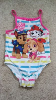 Paw Patrol 4T Swim Suit Bathing Suit