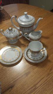 OLD FASHION TEA SET