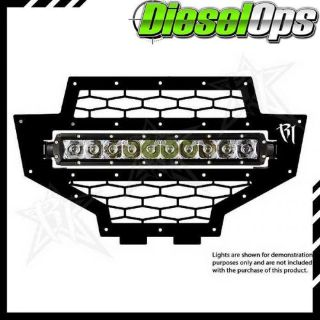 Sell Rigid Industries Black LED Grille Polaris RZR 2011-2013 motorcycle in Oakland, Michigan, United States, for US $175.98