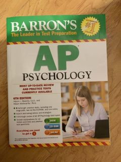 Barron s AP Psychology 6th Edition with CD
