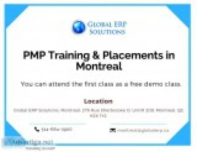 Pmp training placements in montreal