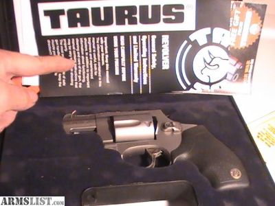 For Sale: Taurus Titanium Revolver 5 shot NIB .38 Special w/case