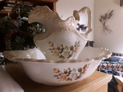 Vintage Pitcher & Bowl