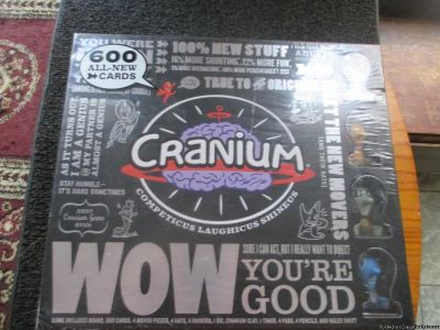 WOW=CRANIUM-BRAIN GAME---NEW