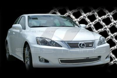 Buy SES Trims TI-MG-199A/B 2009 Lexus IS Billet Grille Mesh Grill Chromed motorcycle in Bowie, Maryland, US, for US $690.00