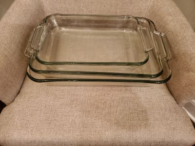 3 Nesting Glass Baking Dishes