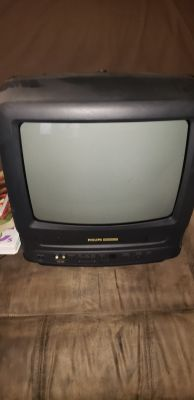 TV and vcr combo