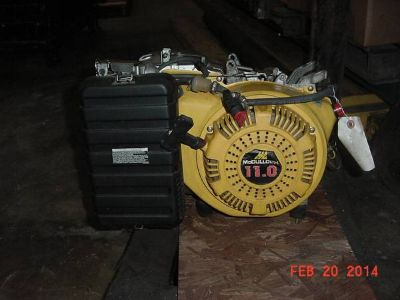 11 hp gas motor 20 hours only