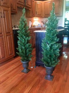 DOING SOME CHRISTMAS ORGANIZING ! These will be beautiful by your door ! They measure 52 inches tall and work great ! 20 for the Pr.!