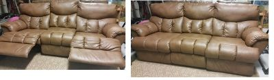 3 Seater Sofa with 2 Reclining Seats