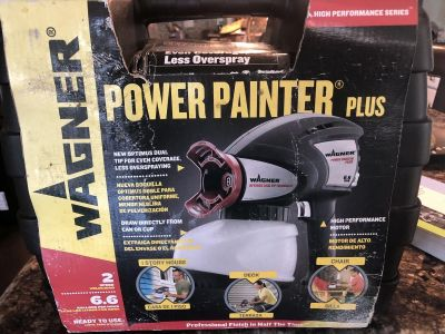 New Wagner power paint plus