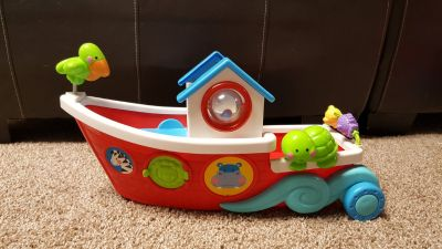 Large fisher price noahs ark boat