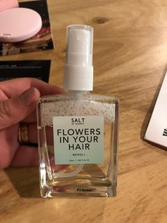 Flowers spray for hair or body $8 firm