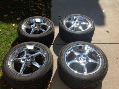 Buy mustang cobra r wheels motorcycle in Littleton, Colorado, US, for US $0.99