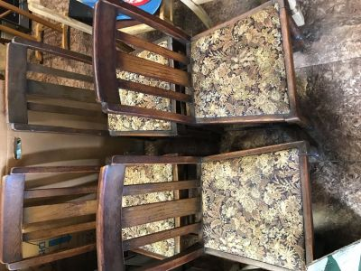 4 Matching antique Chairs