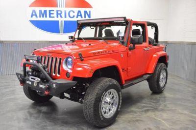 2016 Jeep Wrangler 4wd! Lifted! Chrome (Firecracke)