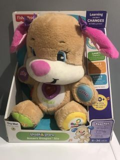 New fisher price laugh & learn smart stages sis