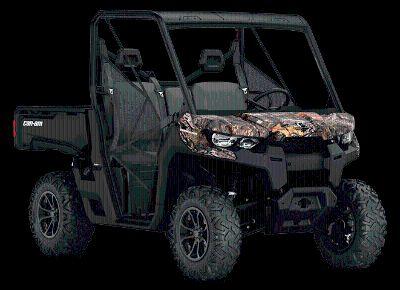 2018 Can-Am Defender DPS HD8 Side x Side Utility Vehicles Hays, KS