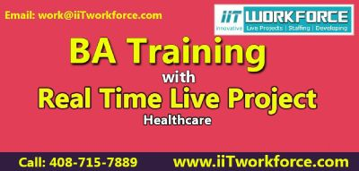 BA Training Online with real time projects on Healthcare domain by IIT Workforce.