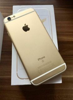 Apple iPhone 6s Plus Gold, 32GB Unlocked. **WITH OTTER BOX DEFENDER; Factory Reset...EXCELLENT CONDITION