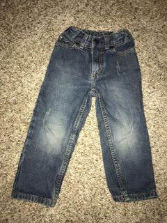 Distressed style jeans 4t Sonoma
