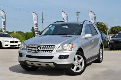 2007 Mercedes-Benz M-Class ML350 (Silver Or Aluminum)