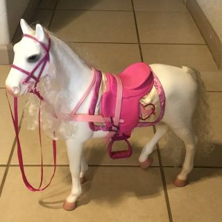 """18"""" Doll Our Generation Horse Cute! EUC"""
