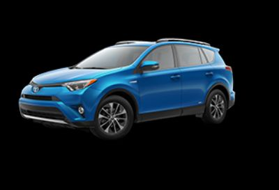 2018 Toyota RAV4 XLE Hybrid AWD-i (Electric Storm Blue)