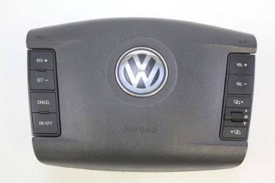 Sell 2004 - 2006 VOLKSWAGEN TOUAREG STEERING WHEEL AIRBAG AIR BAG W/ SWITCH ASSY OEM motorcycle in Traverse City, Michigan, United States, for US $259.99