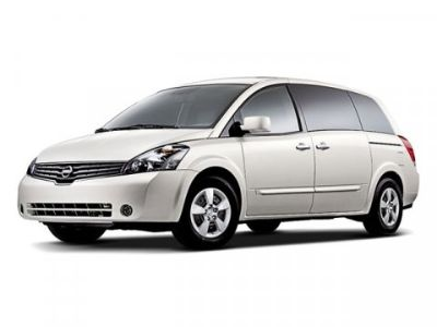 2009 Nissan Quest 3.5 S (Nordic White Pearl)