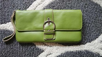 NWOT new york and co leather wristlet