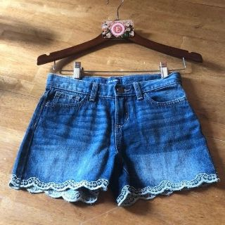 old navy girls jean shorts size 12 new without tags