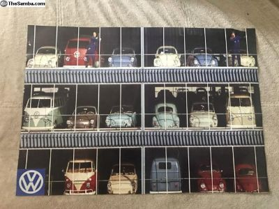 VW Posters for sale! RARE & Vintage