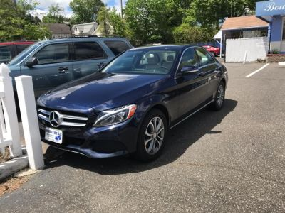 2015 Mercedes-Benz C-Class 4dr Sdn C300 Luxury 4MATIC (Blue)