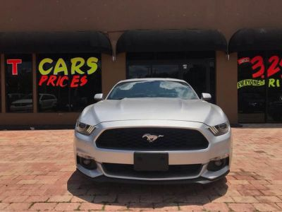 2015 Ford Mustang EcoBoost Premium 2dr Fastback (Silver)