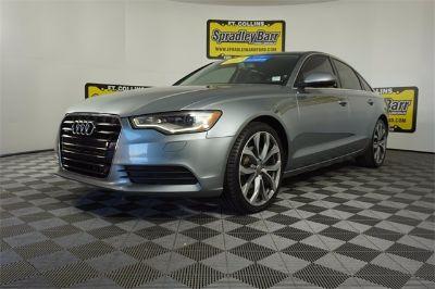 2013 Audi A6 2.0T quattro Premium Plus (gray)