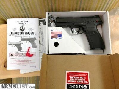 For Sale: Brand spankin New RUGER 9E 9MM 17+1 capacity