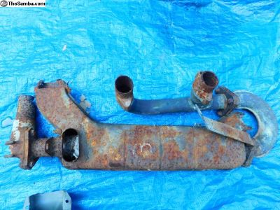 Used Right Side Heater Box- Manifold and U Pipe