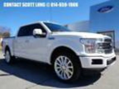 2018 Ford F-150 2018 F-150 Crew Cab Ecoboost 4x4 Limited # 326 Certified 2018
