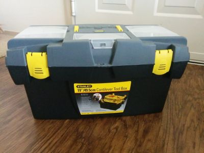 "Stanley 19"" inch Tool Box"