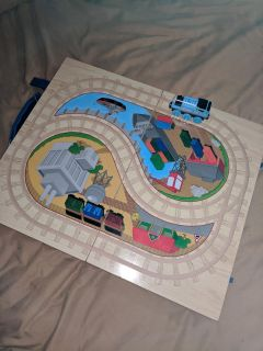 Thomas train carry case track wooden