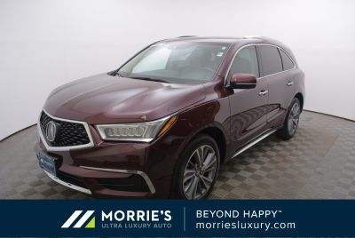 2017 Acura MDX (Red)