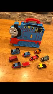 Thomas train case and take along trains